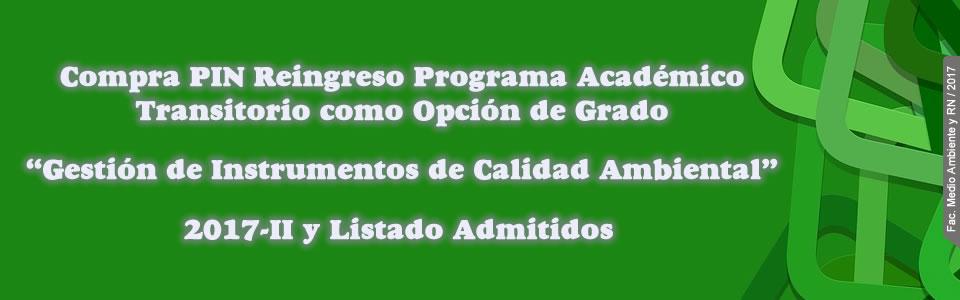 Programa Académico Transitorio. Clic más información